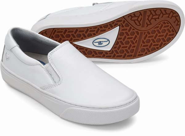 Align™ Faxon shoes shown in White
