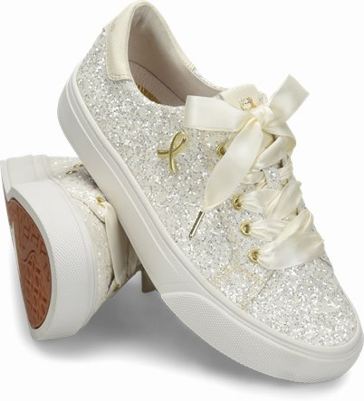 Align™ Glitter shoes shown in Glitter White