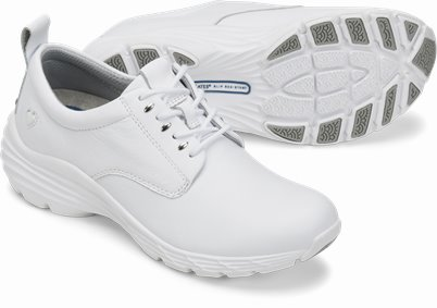 Align™ Tiffin shoes shown in white