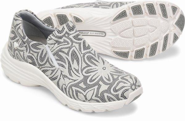 Align™ Dorin shoes shown in grey flower