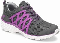 Align™ Brin shoes shown in GREY & PURPLE