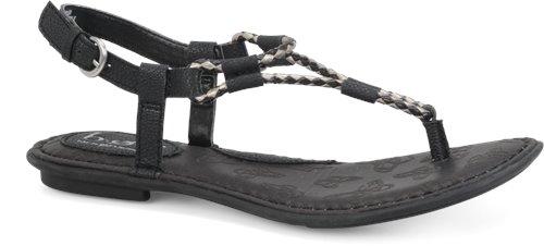 0b8cd034736c2 BOC Palti in Black - BOC Womens Sandals on Shoeline.com
