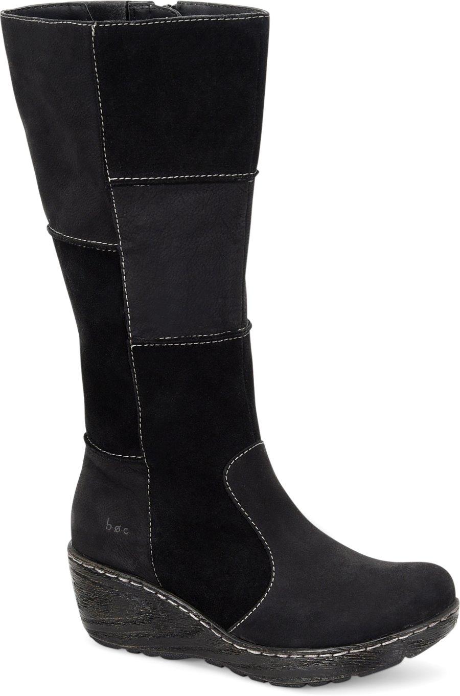 Boc Nix In Black Boc Womens Boots On Shoeline Com