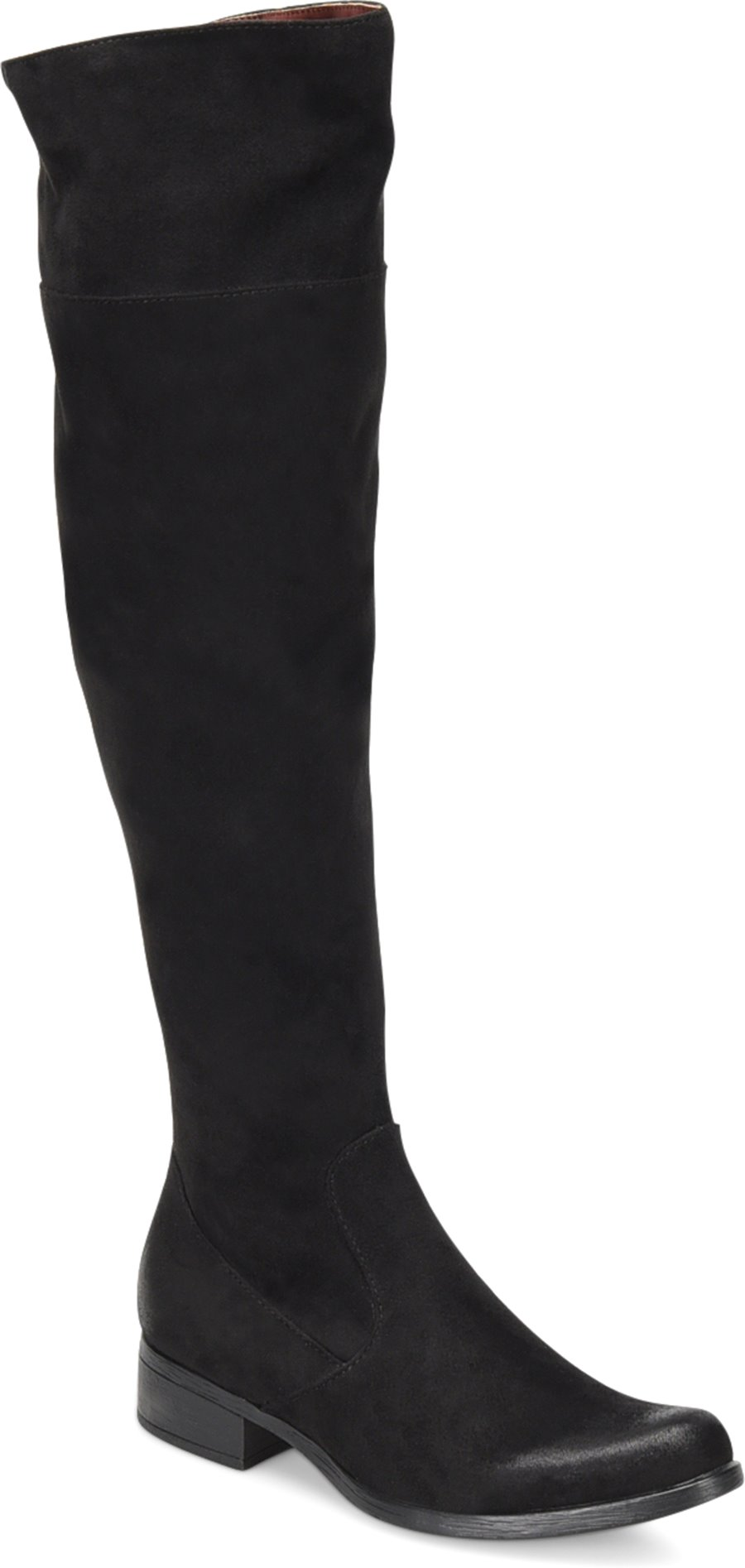 Boc Kace In Black Stretch Fabric Boc Womens Boots On