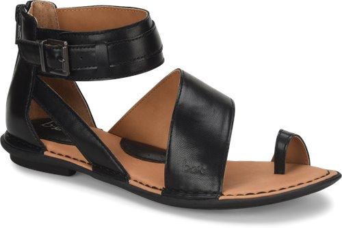 4cd4dbc6fa9c BOC Leila in Black PU - BOC Womens Sandals on Shoeline.com