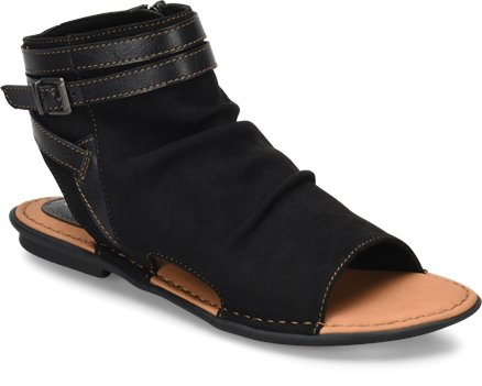ca0e489ec779 BOC Elize in Black Fabric - BOC Womens Sandals on Shoeline.com