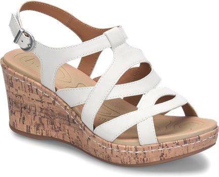 f77df9ecad9 BOC Chyna II in White - BOC Womens Sandals on Shoeline.com