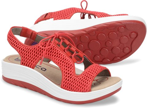 f05079d2e856 Bionica Cosmic in Red - Bionica Womens Sandals on Shoeline.com