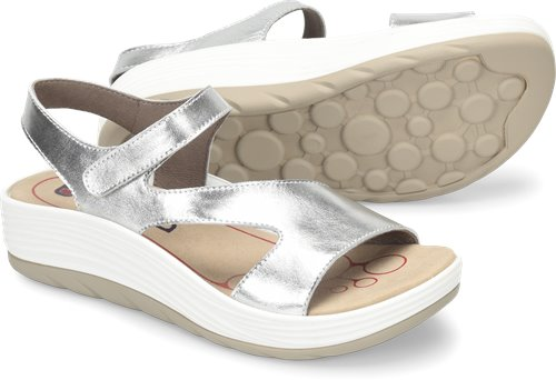236750bd7c3 Bionica Cybele in Silver White - Bionica Womens Sandals on Shoeline.com