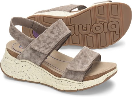 Taupe Suede Bionica Olivette