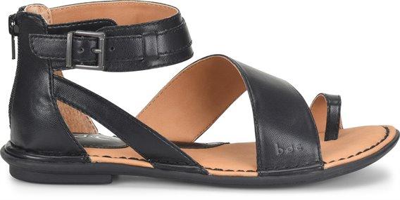 01f1eaaba4f3 BOC Womens Leila in Black PU on bocshoes.com