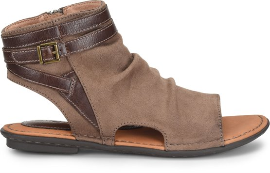 625dd01723bb BOC Womens Elize in Taupe Fabric on bocshoes.com