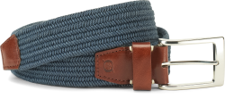 Fabric Belt in color Navy