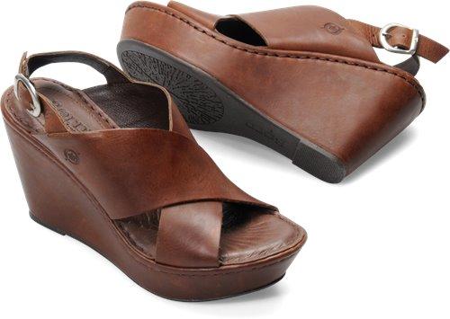 61773d6433b Born Emmy in Brown - Born Womens Sandals on Bornshoes.com