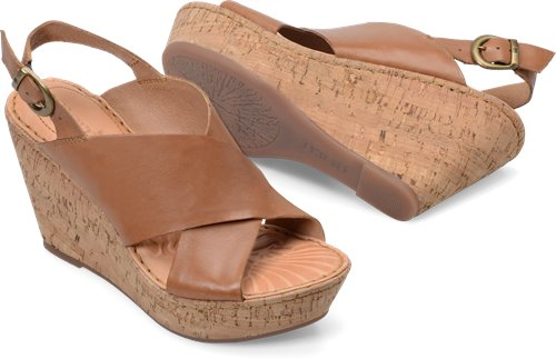 ee1c3586c2f Born Emmy in Tan - Born Womens Sandals on Bornshoes.com