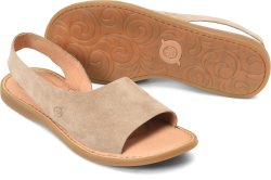 Inlet in color Taupe Suede