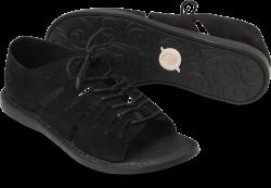 Izhma in color Black Suede
