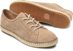 Seel in color Taupe Suede
