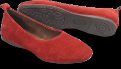 Boca in color Red Suede