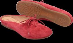 Bianca in color Red Aragosta Suede