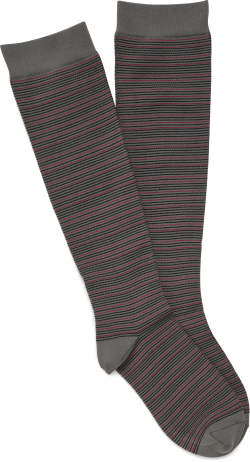 Compression Socks in color Charcoal