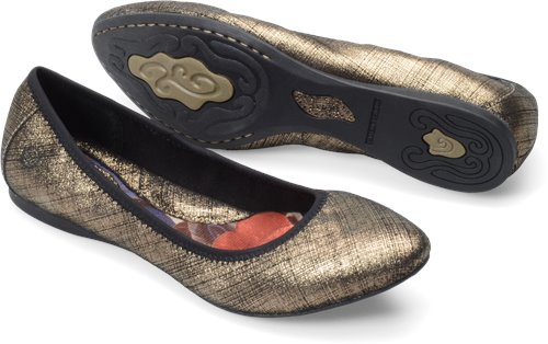 Born Halle In Miele Textured Born Womens Flats On
