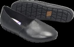 Sebra in color Black Leather