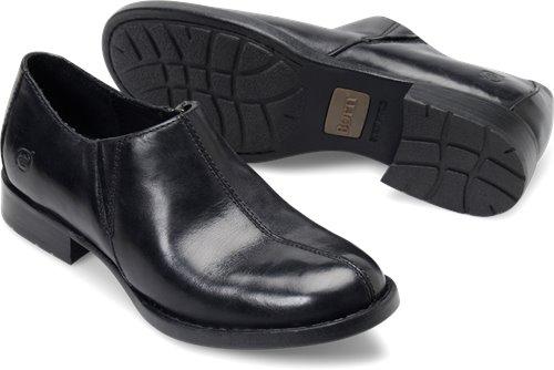 e95f85c8aca Born Silvie in Black Leather - Born Womens Casual on Bornshoes.com