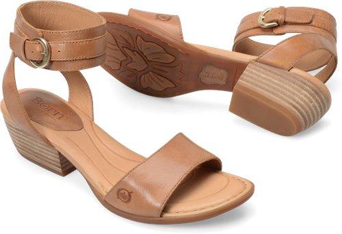 a4916bff6d6 Born Beyer in Tan - Born Womens Sandals on Bornshoes.com