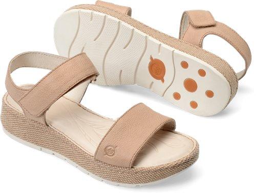 3851cf568af2 Born Petula in Corda Washed Nubuck - Born Womens Sandals on Bornshoes.com