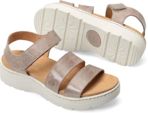 befe6070629c Born Bastille in Taupe - Born Womens Sandals on Bornshoes.com