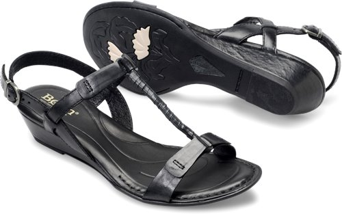 24249ec2e17b Born Douala in Black - Born Womens Sandals on Bornshoes.com