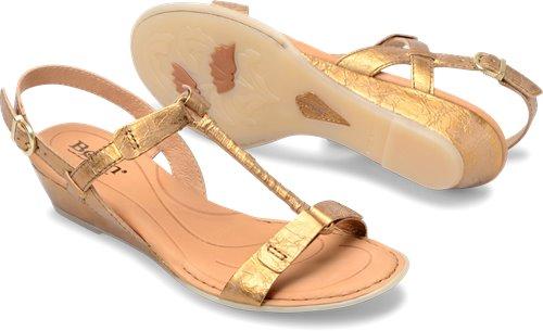 2bb233c56645 Born Douala in Oro Vecchio - Born Womens Sandals on Bornshoes.com