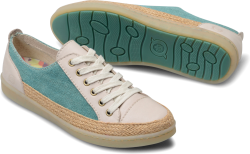 Corfield in color Turquoise Cream