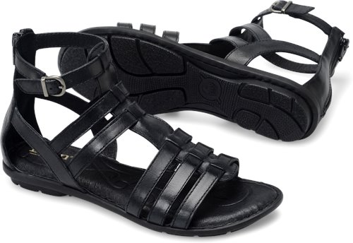 64db24186c1 Born Tripoli in Black - Born Womens Sandals on Bornshoes.com