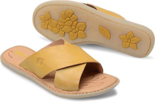 cf8249c5e179 Born Kula in Sunflower - Born Womens Sandals on Bornshoes.com