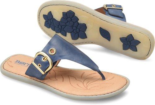 b63ee01ec30d Born Orla in Navy - Born Womens Sandals on Bornshoes.com