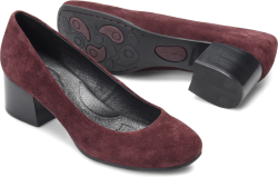 Amery in color Amarone Suede