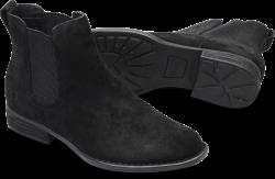 Casco in color Black Suede