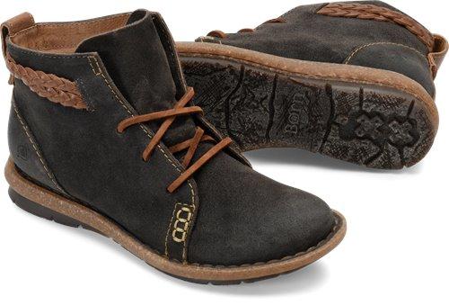 7c2973de124b Born Temple in Dark Gray - Born Womens Boots on Bornshoes.com