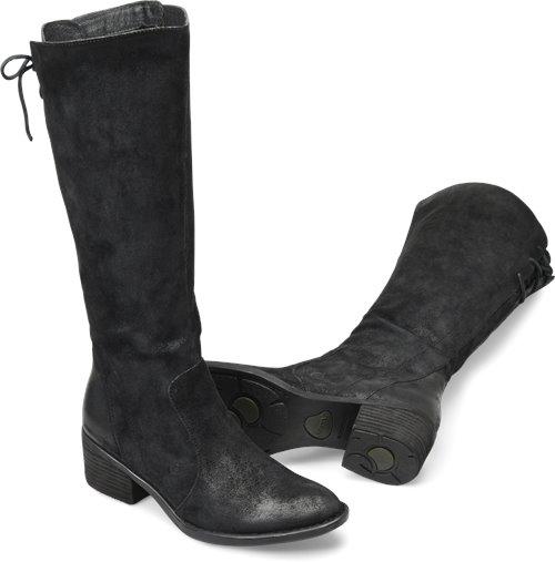 6474fe159d48 Born Felicia in Black - Born Womens Boots on Bornshoes.com