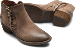 Bessie in color Taupe Distressed