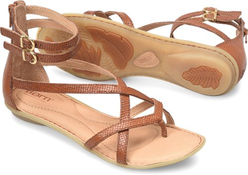 Born On In Cognac Gladiator Womens Mai Sandals 0mNnvw8O