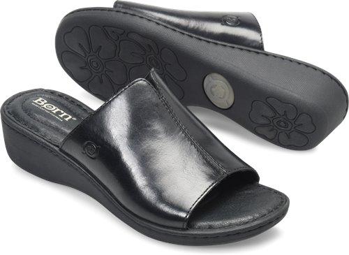 128a8c16836 Born Bernt in Black - Born Womens Sandals on Bornshoes.com