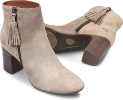 Michie in color Taupe Suede