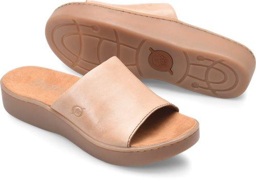 001c290c2241 Born Ottawa in Taupe - Born Womens Sandals on Bornshoes.com