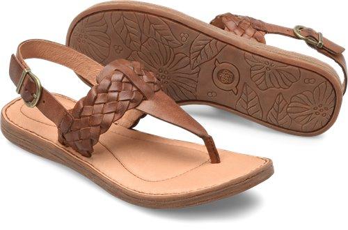 7c76121d6 Born Sumter in British Tan - Born Womens Sandals on Bornshoes.com