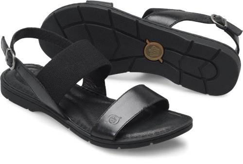 0a3e867ca5bb Born Tusayan in Black - Born Womens Sandals on Bornshoes.com