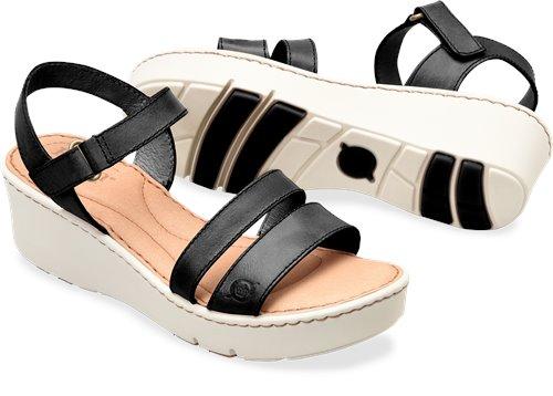 e762bd663751 Born Pawnee in Black - Born Womens Sandals on Bornshoes.com