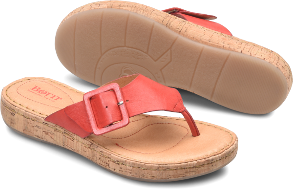 BORN Fort Pierre : Red - Womens